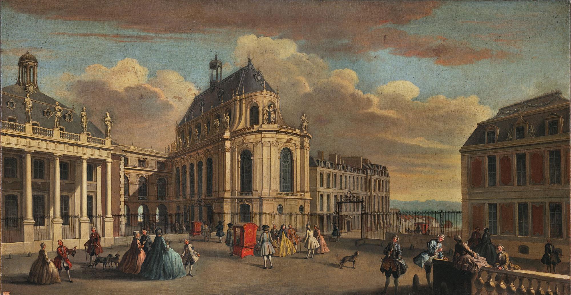 1710 Xviiie Si 232 Cle Au Cours Des Si 232 Cles Versailles 3d