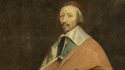 Armand-Jean du Plessis, Cardinal de Richelieu (1585-1642), studio of Philippe de Champaigne (1602-1674), circa 1639, Versailles, chteaux de Versailles et de Trianon  RMN (Chteau de Versailles) / Grard Blot