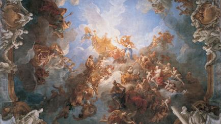 Ceiling of the Hercules Salon: ''The Apotheosis of Hercules'', François Lemoyne (1688-1737), 1731-1736, Versailles, châteaux de Versailles et de Trianon © EPV/ Jean-Marc Manaï