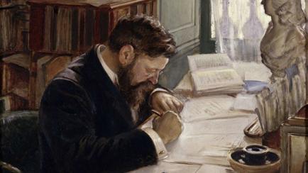 Pierre de Nolhac (1859-1936), Curator of the Museum of Versailles, Henri de Girauld de Nolhac (1884-1948) painter; draughtsman, 1909, Versailles, châteaux de Versailles et de Trianon © RMN (Château de Versailles) / Gérard Blot