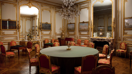 Present-day view of the Games Room in the interior apartment of the King, 2012, Versailles, châteaux de Versailles et de Trianon © EPV/Thomas Garnier
