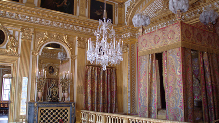 Present-day view of the King's bedchamber in his Grand Apartment, 2009, Versailles, châteaux de Versailles et de Trianon © EPV/ Christian Milet