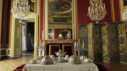 Present-day view of the Antechamber of the Queen's Grand Couvert, Grand Apartment of the Queen, 2011, Versailles, chteaux de Versailles et de Trianon  EPV/ Christian Milet