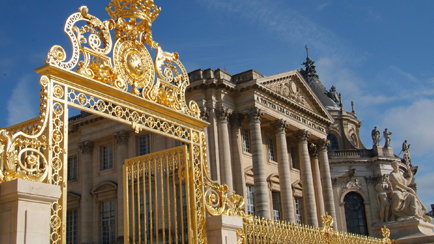 Present-day view of the Royal Gate and Railings, 2010, Versailles, châteaux de Versailles et de Trianon © EPV/ Christian Milet