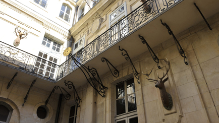 Present-day view of the Stags Courtyard, 2012, Versailles, châteaux de Versailles et de Trianon © EPV/ Christian Milet