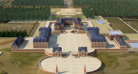 Versailles 3d 5 centuries of creation malvernweather Image collections