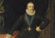 Henri IV, king of France and Navarre (1553-1610) in 1610, Pourbus Frans, the Younger (1569-1622), Versailles, châteaux de Versailles et de Trianon © RMN (Château de Versailles) / Gérard Blot