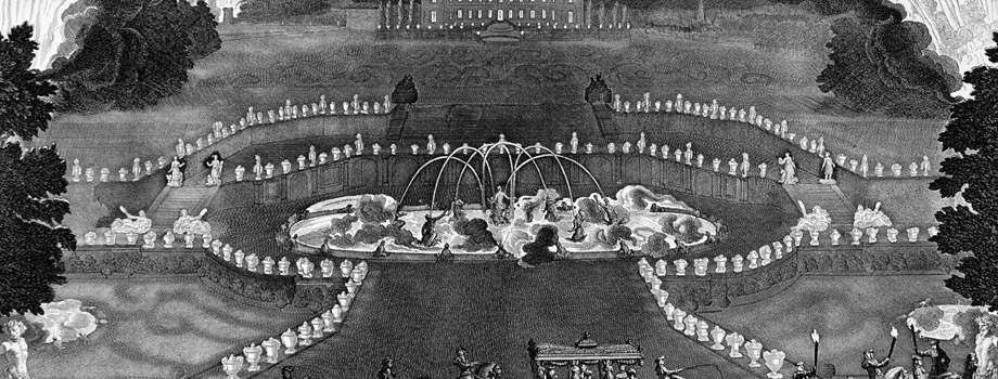 The Grand Royal Entertainment, 18 July 1668. IIllumination of the Palace and Gardens of Versailles, Jean Le Pautre (1618-1682), Versailles, châteaux de Versailles et de Trianon © EPV/ Jean-Marc Manaï
