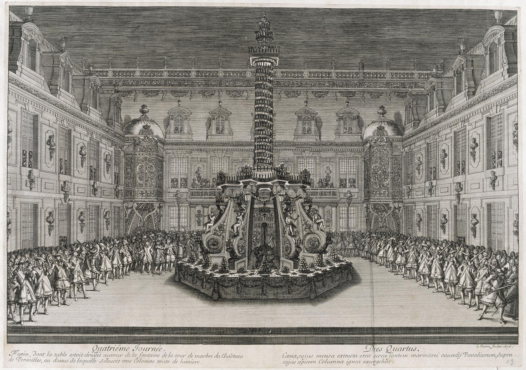 Salle De Bain De Louis Xiv ~ 1670 d couvrez les maquettes 3d versailles 3d