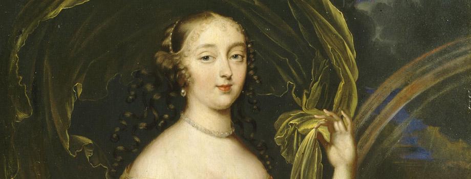 Françoise-Athénaïs de Rochechouart, Marquise de Montespan depicted as Iris (1641-1707), attributed to Louis Elle the Younger (1648-1717), known as Ferdinand, Versailles, châteaux de Versailles et de Trianon © RMN (Château de Versailles) / Daniel Arnaudet / Gérard Blot