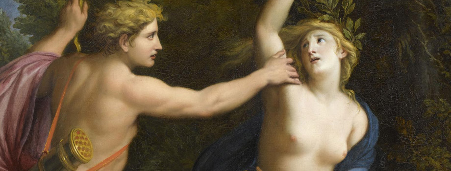 Apollo pursuing Daphne, René Antoine Houasse (1645-1710), Versailles, châteaux de Versailles et de Trianon © RMN (Château de Versailles) / Gérard Blot