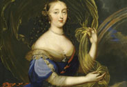 Franoise-Athnas de Rochechouart, marquise de Montespan reprsente en Iris (1641-1707, attribu  Louis Elle, le Jeune (1648-1717), dit Ferdinand, Versailles, chteaux de Versailles et de Trianon  RMN (Chteau de Versailles) / Daniel Arnaudet / Grard Blot