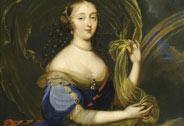 Françoise-Athénaïs de Rochechouart, Marquise de Montespan depicted as Iris (1641-1707, attributed to Louis Elle the Younger (1648-1717), known as Ferdinand, Versailles, châteaux de Versailles et de Trianon © RMN (Château de Versailles) / Daniel Arnaudet / Gérard Blot