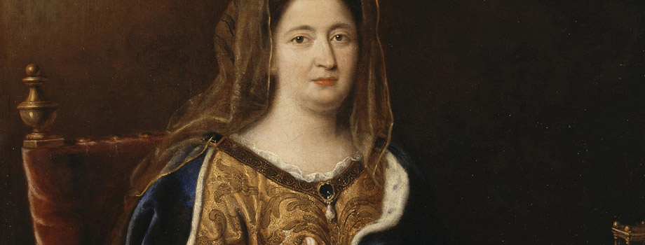 Franoise d'Aubign (1635-1719), marquise de Maintenon, reprsente en sainte Franoise romaine, Pierre Mignard (1612-1695), vers 1694, Versailles, chteaux de Versailles et de Trianon  RMN (Chteau de Versailles) / Daniel Arnaudet / Grard Blot