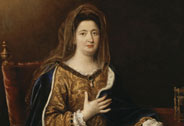 Françoise d'Aubigné (1635-1719), Marquise de Maintenon, depicted as Saint Frances of Rome, Pierre Mignard (1612-1695), circa 1694, Versailles, châteaux de Versailles et de Trianon © RMN (Château de Versailles) / Daniel Arnaudet / Gérard Blot