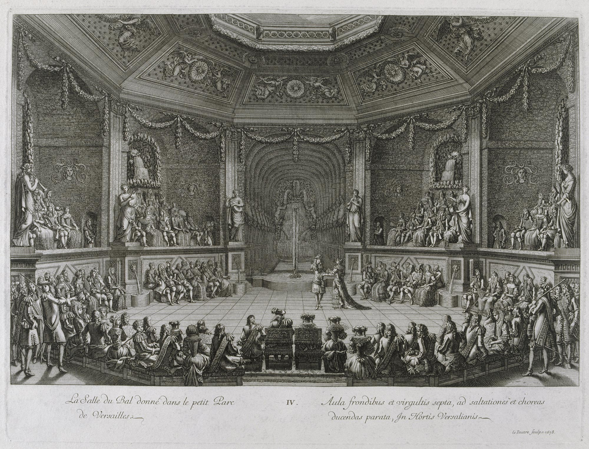 The Grand Royal Entertainment given by Louis XIV in Versailles on 18 July  1668, Jean