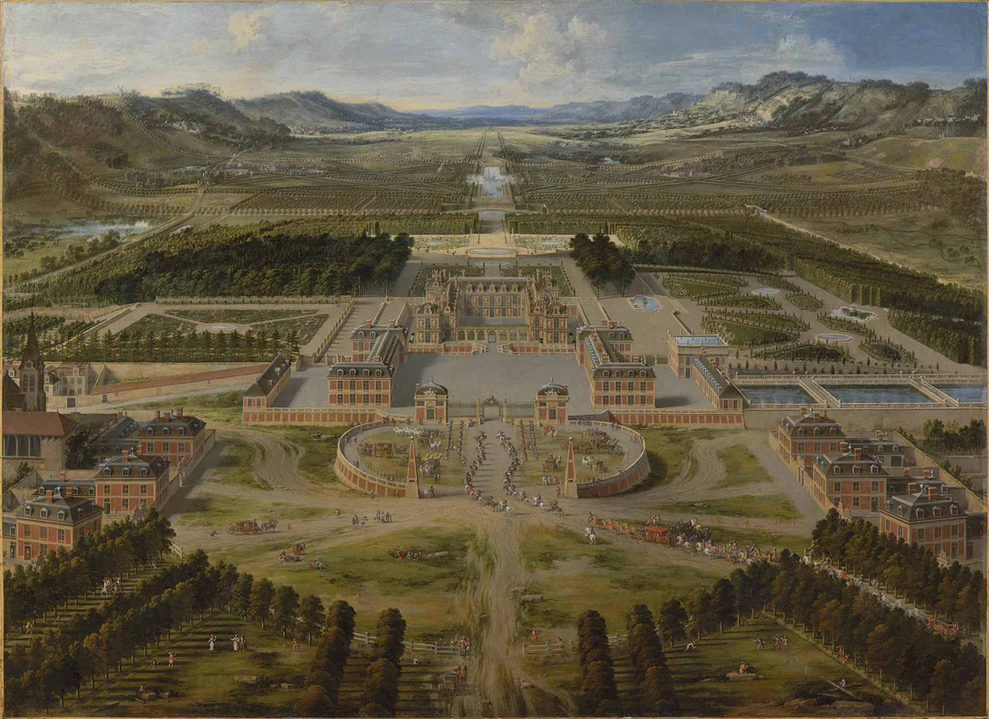 1668 - Discover the 3D scale models - Versailles 3d