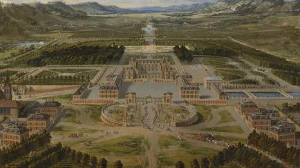 Palace Balcony Illustration
